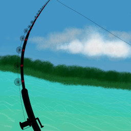diadepesca dcfishingweek fishingweek paint dibujo