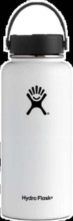 hydroflask white vsco tumblt freetoedit