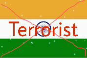India s a terrorist county , doing barbarism and Muslims genocide in occupied Kashmir