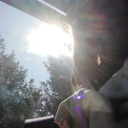 bus wow light colorful sun