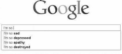 google googlesearch sad depressed internet freetoedit