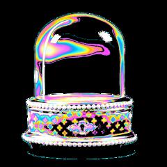 freetoedit globe box lock holographic