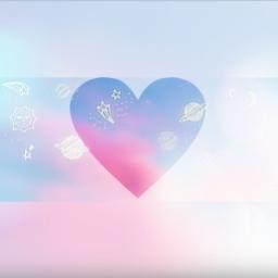 skyblue heart myeditedphoto freetoedit