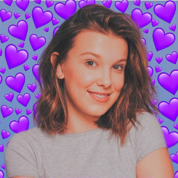 milliebobbybrown milliebobby eleven once strangerthings freetoedit