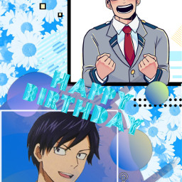 tenya iida dekuedit happybirthday happy freetoedit