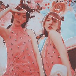 wendy redvelvet pinkaesthetic sonseungwan redvelvetedit