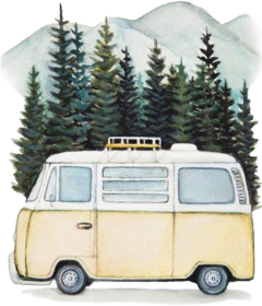 camper van wanderlust camping travel freetoedit