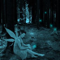 freetoedit vipshoutout enchantedforest fairy fantasyworld