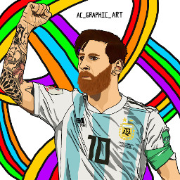 freetoedit messi soccer soccerplayer