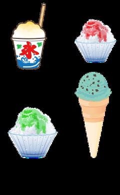 gacha icecream ice icee cold freetoedit