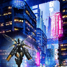 The Newest cyberpunk  Images on PicsArt