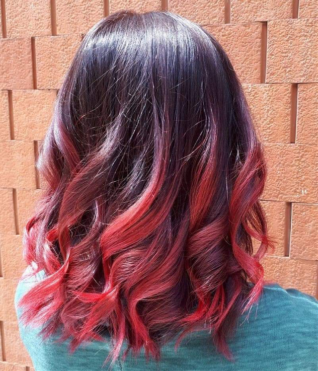 #pcawesomehairdo #awesomehairdo #hairstyle #redhairlove #hair #haircut #haircolour #red #crazyhair #crazycolors
