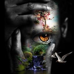 freetoedit eye myedit awesome surrealart