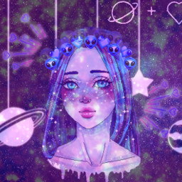 freetoedit galaxy galaxygirl space uwu