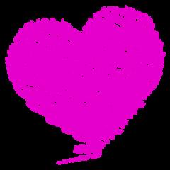 heart love oink chalk freetoedit