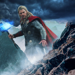 freetoedit thor interesting lightning mjolnir