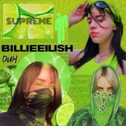 music billieeilish billieeilishedits greenaesthetic green