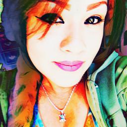 justme beingme colorful selfie tiedye