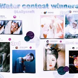 lollyswatercontest kpop award prizes winners