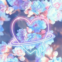 freetoedit flowers🌹🌷 heartstickerremix aestethicedit flowers