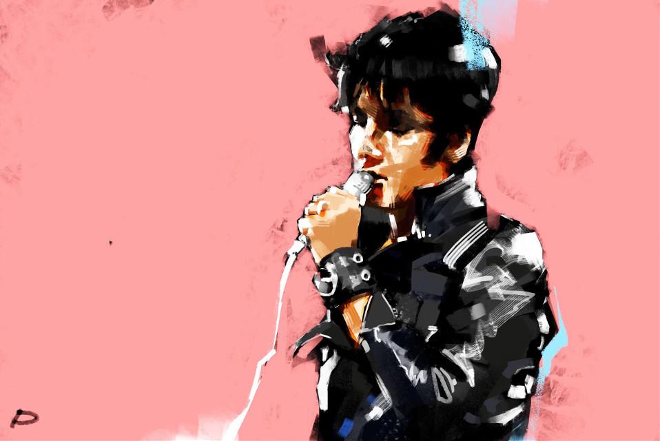 🎼 Elvis Presley - If I Can Dream #punksy #artist #painter #illustrator #drawing #elvispresley