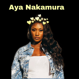 freetoedit ayanakamoura aya yellow girl