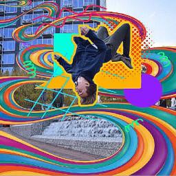 freetoedit stripes swirls graphicdesign skateboard