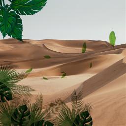 freetoedit deserted desertleaves