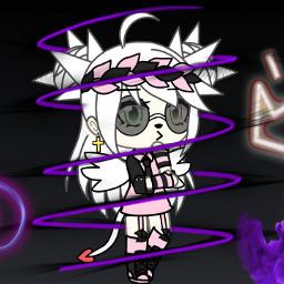 freetoedit neon purple purplecrown purplecrownneon