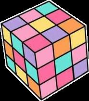 cube 90's 90svibes 90saesthetic colorful freetoedit