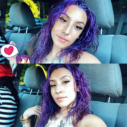 freetoedit fridax fridaxitlalhic purplehair purple