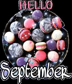scseptember september myfirststicker birthdaymonth septemberbaby freetoedit