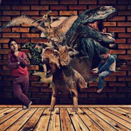 dinosaurios fantasia niños arte jurassic