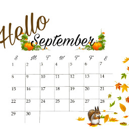 freetoedit september helloseptember fall autumn