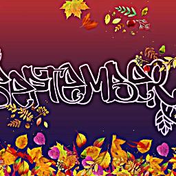 freetoedit remixit september septemberchallenge seasons ircseptembershere