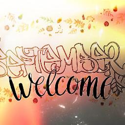 """freetoedit september september2019 """"wellcome ircseptembershere"""
