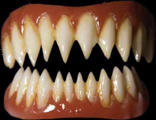 teeth demon pennywise sharp sharpteeth scary freetoedit