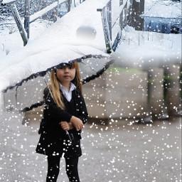 snowday blend umbrella umbrellagirl