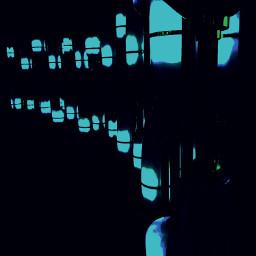 blue black mightdelete cool view freetoedit