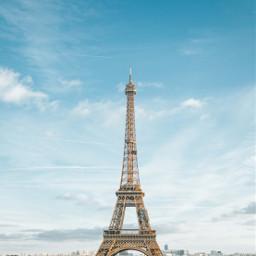 travel eiffeltower paris france freetoedit