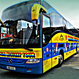 photography travel magicalmysterytour bus liverpool