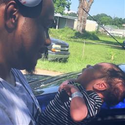 baby newborn daddy father dad freetoedit