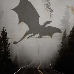 ecgiantanimals giantanimals freetoedit dragon smoke