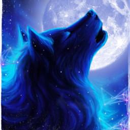 srcfullmoon fullmoon wolf freetoedit