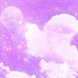 紫 purple くも cloud japanese