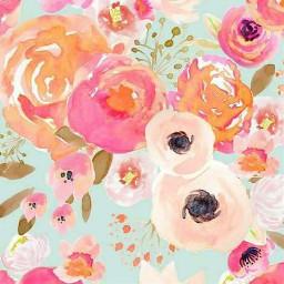 freetoedit watercolor flowers
