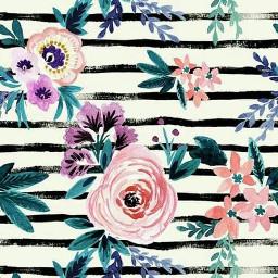 freetoedit watercolor wallpaper flowers stripes