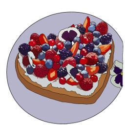dcbakeacake bakeacake gateau gateaux fruits