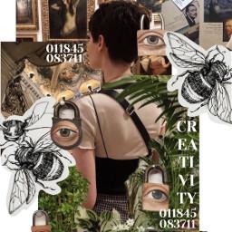 creativity freetoedit bees art locks pconly