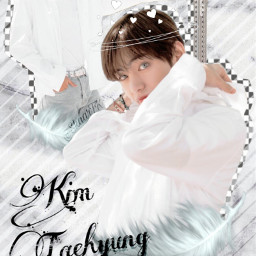 freetoedit v kimtaehyung bts bangtansonyeondan